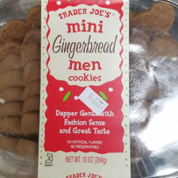 Trader Joe's Mini Gingerbread Men Cookies