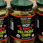 Trader Joe's Organic Kosher Hot & Spicy Dill Pickle Chips