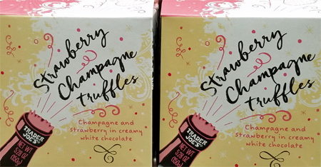 Trader Joe's Strawberry Champagne Truffles Reviews