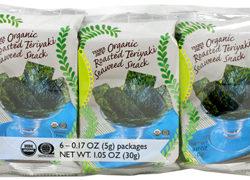 Trader Joe's Organic Roasted Teriyaki Seaweed Snack (6-pack)