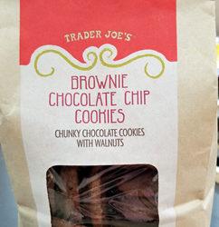 Trader Joe's Brownie Chocolate Chip Cookies