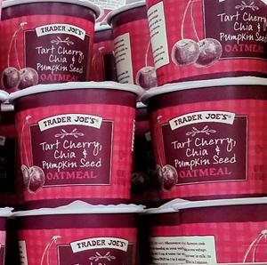 Trader Joe's Tart Cherry, Chia, and Pumpkin Seed Oatmeal