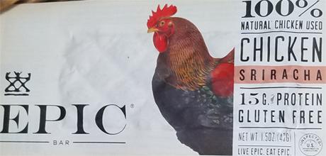 Chicken Sriracha Epic Bar