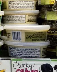 Trader Joe's Chunky Olive Hummus