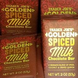 Trader Joe's Golden Spiced Milk Chocolate Bar
