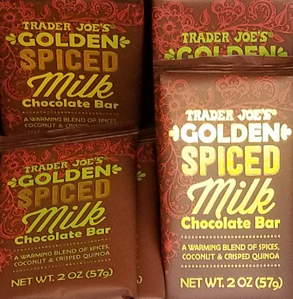 Trader Joe's Golden Spiced Milk Chocolate Bar