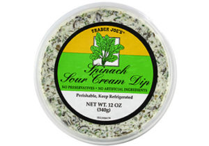 Trader Joe's Spinach and Sour Cream Dip
