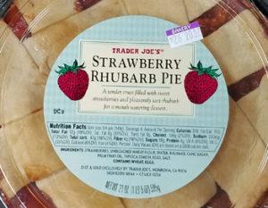Trader Joe's Strawberry Rhubarb Pie