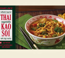 Trader Joe's Thai Vegetable Kao Soi