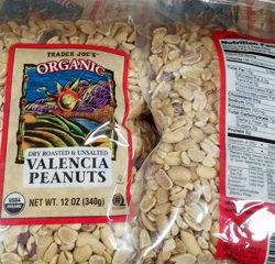 Trader Joe's Organic Valencia Peanuts