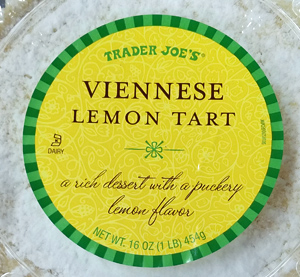Trader Joe's Viennese Lemon Tart