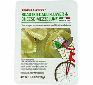 Trader Joe's Roasted Cauliflower & Cheese Mezzelune