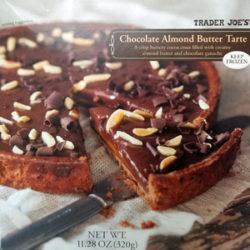Trader Joe's Chocolate Almond Butter Tarte
