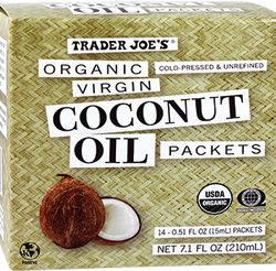 Trader Joe's Organic Virgin Coconut Oil Packets