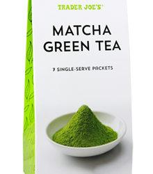 Trader Joe's Matcha Green Tea Single-Serve Packets