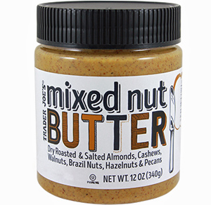 Trader Joe's Mixed Nut Butter