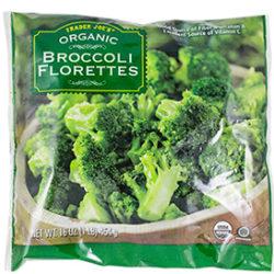 Trader Joe's Frozen Organic Broccoli Florettes