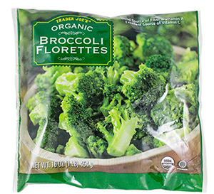 Trader Joe's Frozen Organic Broccoli Florettes