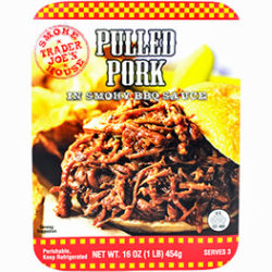 Trader Joe's Pulled Pork in Smoky BBQ Sauce