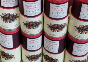 Trader Joe's Black Forest Cupcake Flavored Black Tea
