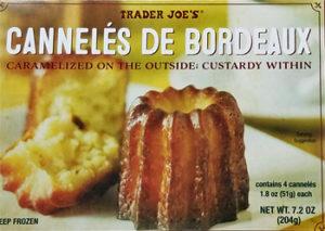 Trader Joe's Cannelés de Bordeaux