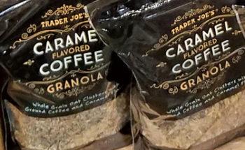 Trader Joe's Caramel Flavored Coffee Granola