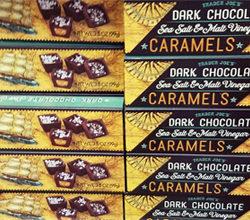 Trader Joe's Dark Chocolate Sea Salt & Malt Vinegar Caramels