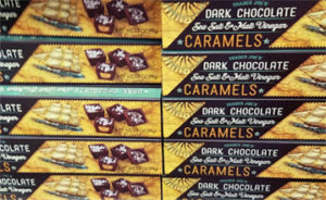 Trader Joe's Dark Chocolate Sea Salt & Malt Vinegar Caramels