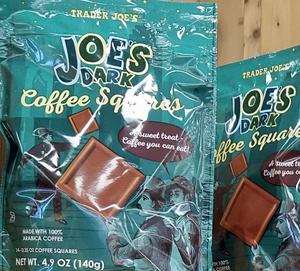 Trader Joe's Dark Coffee Squares