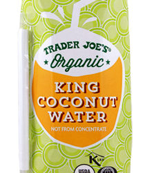 Trader Joe's Organic King Coconut Water
