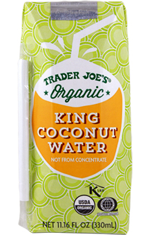 Trader Joe's Organic King Coconut Water