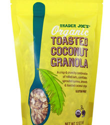 Trader Joe's Organic Toasted Coconut Granola