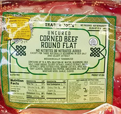 Trader Joe's Uncured Corned Beef Round Flat