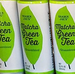 Trader Joe's Matcha Green Tea Cans
