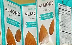 Trader Joe's Unsweetened Almond Beverage