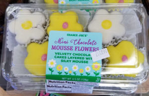 Trader Joe's Mini Chocolate Mousse Flowers