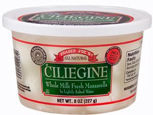 Ciliegine Whole Milk Fresh Mozzarella