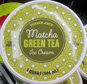 Trader Joe's Matcha Green Tea Ice Cream