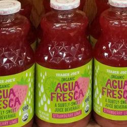 Trader Joe's Strawberry Lime Agua Fresca