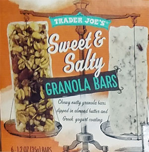 Trader Joe's Sweet & Salty Granola Bars