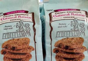 Trader Joe's Gluten-Free Crispy Crunchy Oatmeal Raisin Cookies
