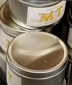 Trader Joe's Mango Tangerine Scented Candle