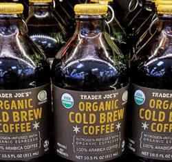 Trader Joe's Organic Cold Brew Coffee