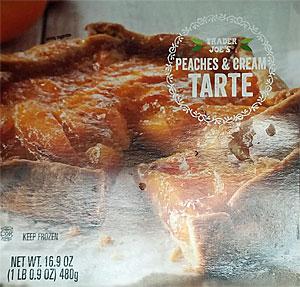 Trader Joe's Peaches & Cream Tarte