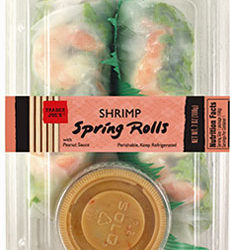 Trader Joe's Shrimp Spring Rolls