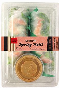 Trader Joe's Shrimp Spring Rolls