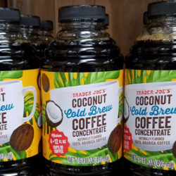 Trader Joe's Coconut Cold Brew Coffee Concentrate