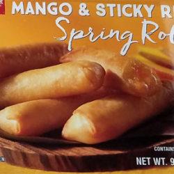 Trader Joe's Mango & Sticky Rice Spring Rolls