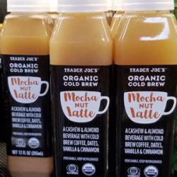 Trader Joe's Organic Cold Brew Mocha Nut Latte