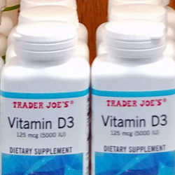 Trader Joe's Vitamin D3 Dietary Supplement